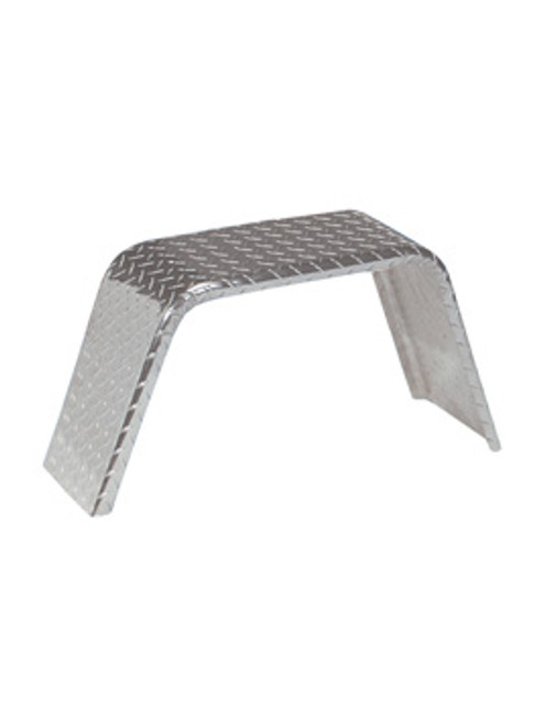 18002ATB --- Jeep Type Flat Top Aluminum Treadplate Fender