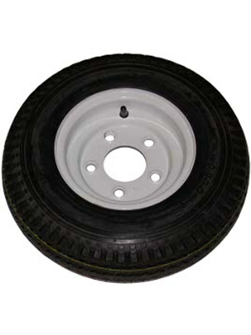 """WT8-5WPD570 --- 8"""" Trailer Wheel and Tire Assembly, 5 on 4-1/2"""""""
