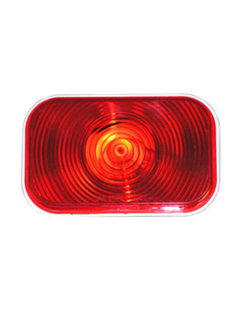 "450R --- Retangular 3"" x 5"" Sealed Light - Red"