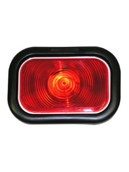 """450KR --- Retangular 3"""" x 5"""" Sealed Light Kit- Red"""