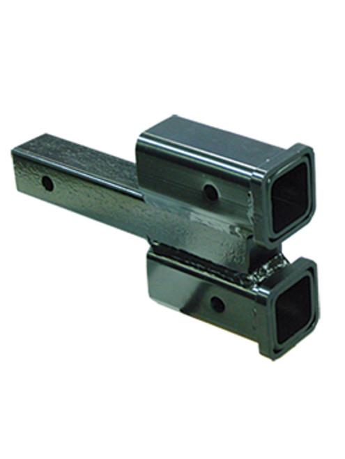 "077-2 --- Dual Hitch Receiver - 2"" Drop"