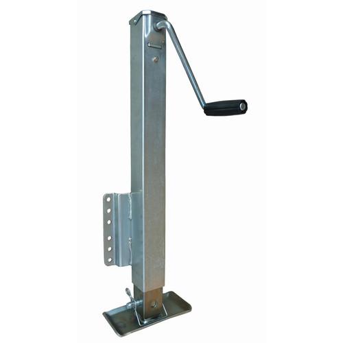 RAM2500 --- RAM Fixed Mount Drop Leg Jack with Footplate - 2,500 lb Capacity