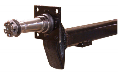 "DST35-84FS --- 2""x2"" Square Tubular or 2""x3"" Retangular Tubular 4"" Drop Axle with 84 Spindle - 3,500 lb Capacity"