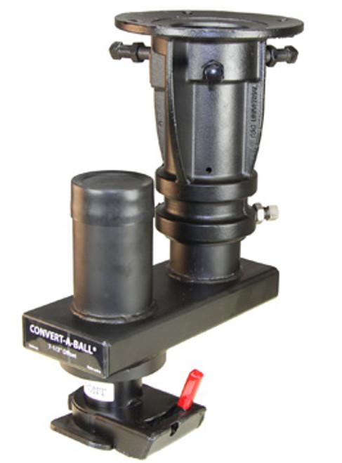 KPGA-1216O --- Convert-A-Ball King Pin to Cushioned Gooseneck Adapter - 20,000 lb Capacity