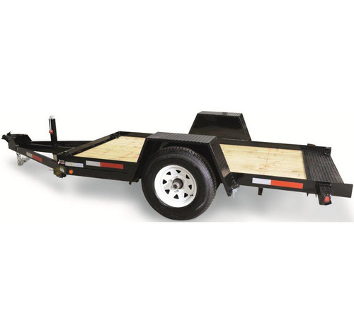 CT6012TSA4EL --- 6' x 12' Pan Tilt-Bed with Electric Brakes
