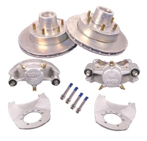 """2/HRCM-12-KIT --- 12"""" Kodiak Disc Brake Kit for 6,000 lb axles - 6 on 5-1/2"""" - Pair"""