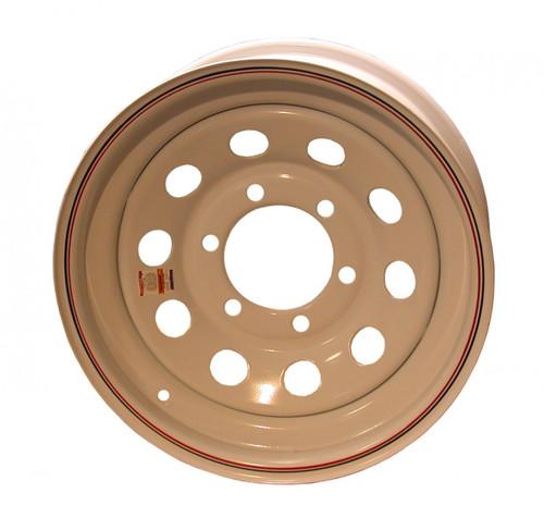"W15-655WM --- 15"" Trailer Wheel, 6 on 5-1/2"""