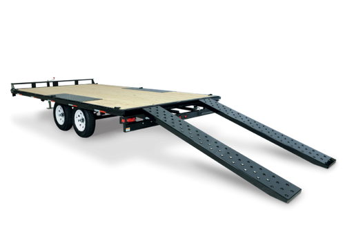 "STLPD10218TA3 --- 102""x18' Low Profile Flatdeck Deckover Trailer"