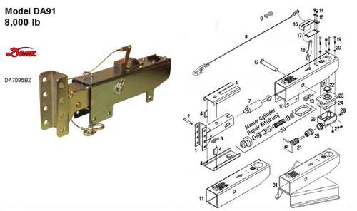 DA91 - Parts Breakdown