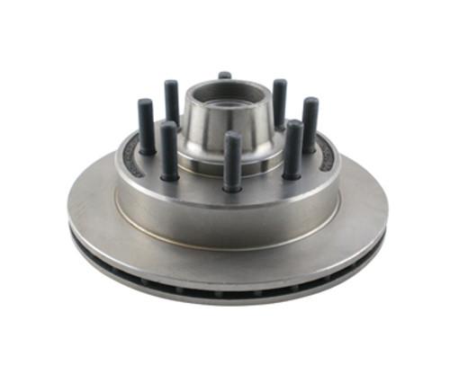 "R/H-133-8-10 --- 13"" Kodiak Disc Brake Hub Rotor with 5/8"" studs - 7.2k & 8k axles - 8 on 6-1/2"""