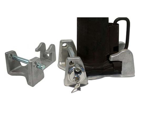 """TL-50 --- Universal 2"""" and 2-5/16"""" Trailer Coupler Lock"""