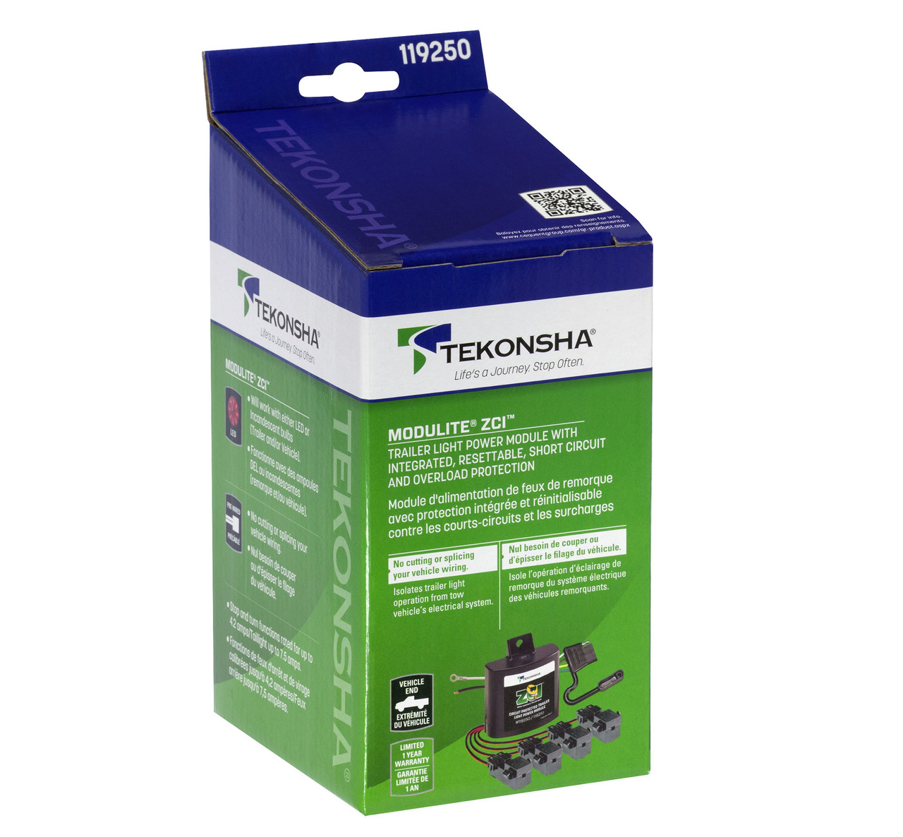 119250 Zci Zero Contact Interface Universal Modulite No Splicing Convertor Vehicle Wiring Products Ltd Croft Trailer Supply