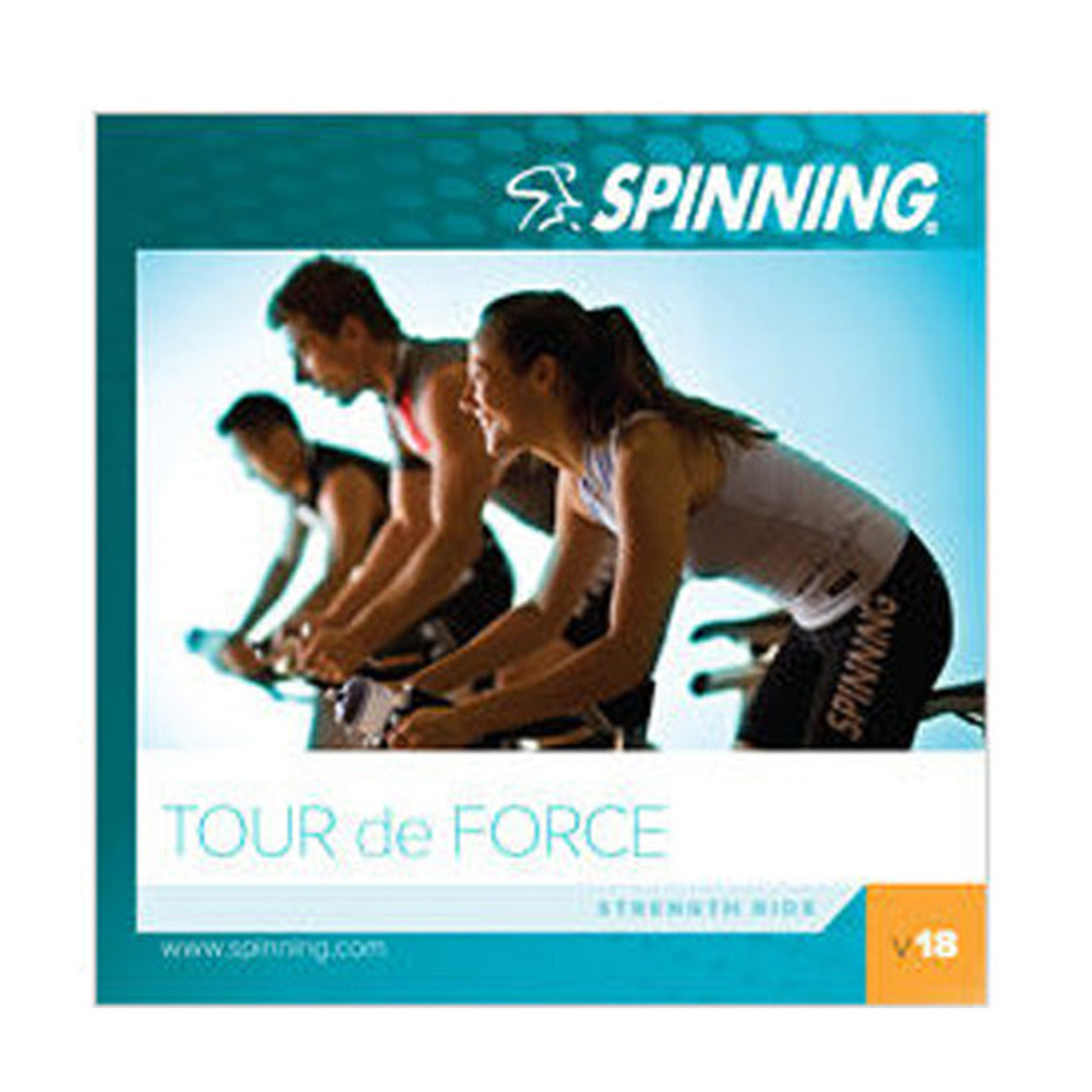 Spinning® CD Volume 18 | Tour de Force