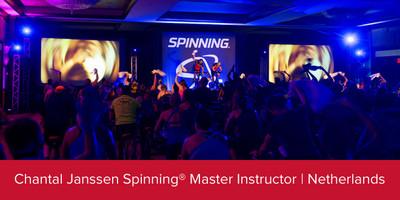 Chantal Janssen, Spinning® Master Instructor | Netherlands