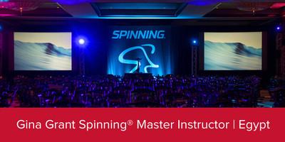 Gina Grant, Spinning® Master Instructor | Egypt