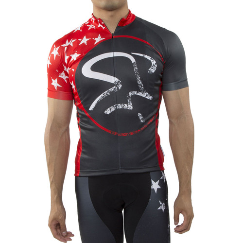 Spinning® Gemini Men's Cycling Jersey Red