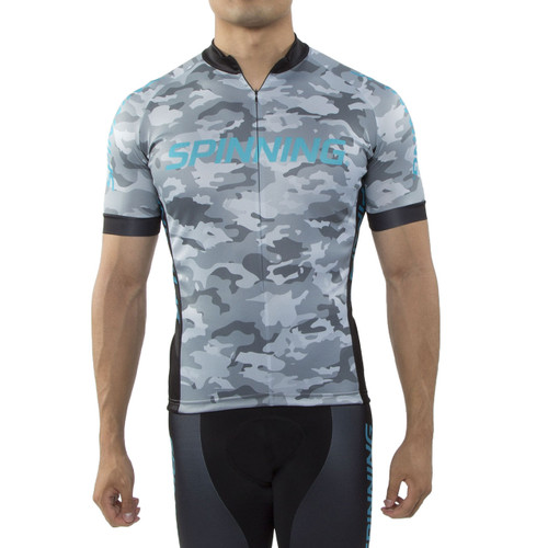 Spinning® Hercules Cycling Jersey Blue