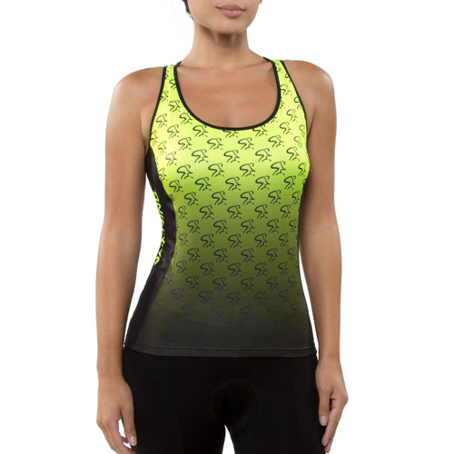 Spinning® Taurus Women's Cycling Donna Top Yellow