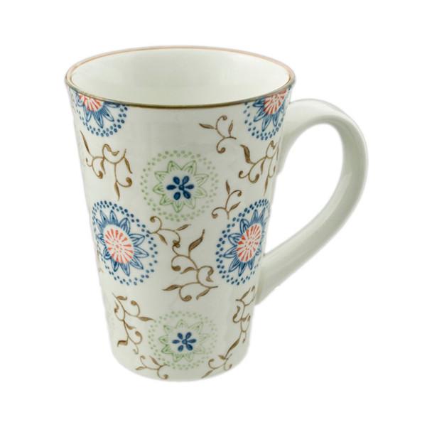 Flowering Porcelain Mug 16oz, Helen
