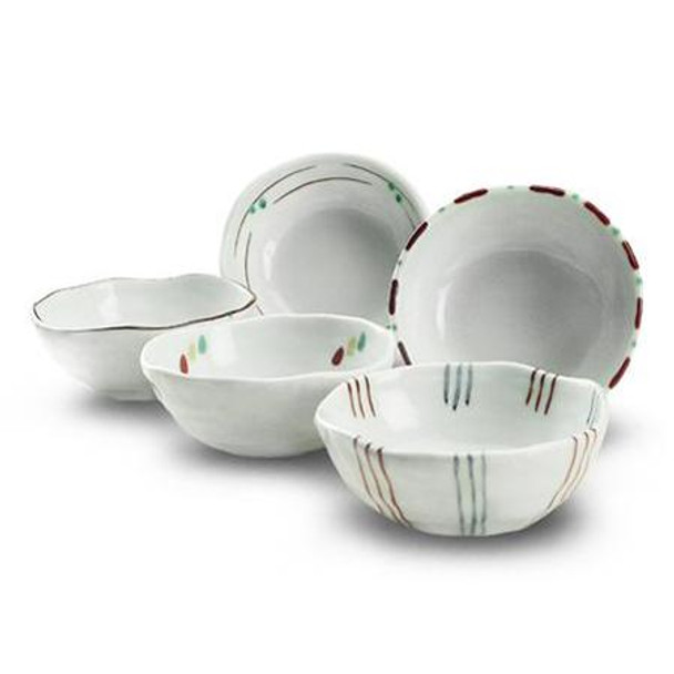 Kafuh Assorted Bowls 5pc Set