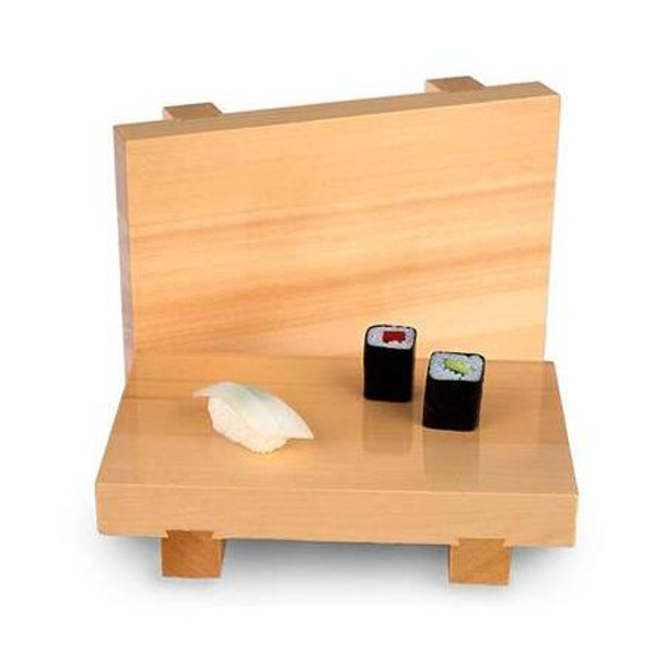 Light Wooden Sushi Geta - Large