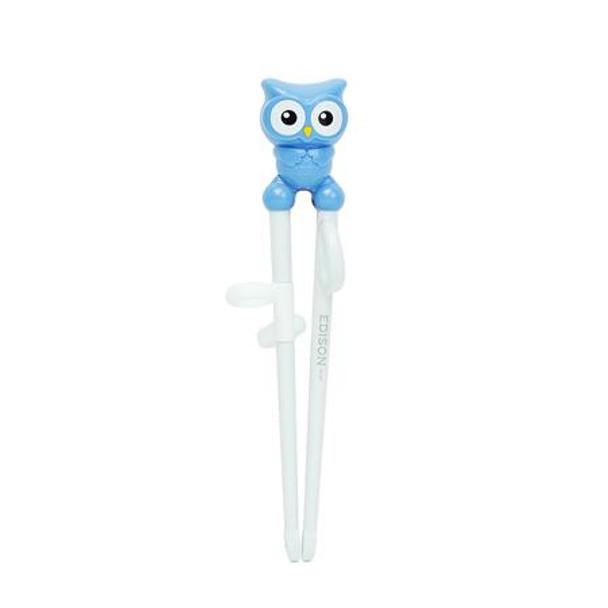 Blue Edison Owl Chopstick Right-Hand