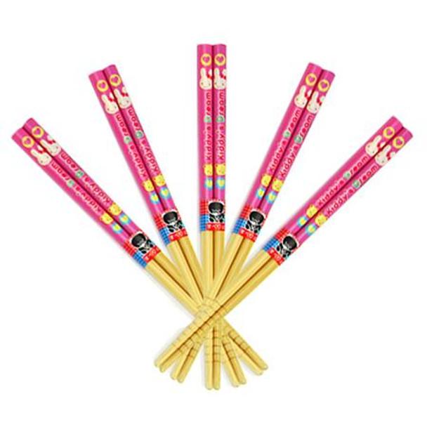 """Happy Dream"" Kids Chopsticks (5 pairs)"