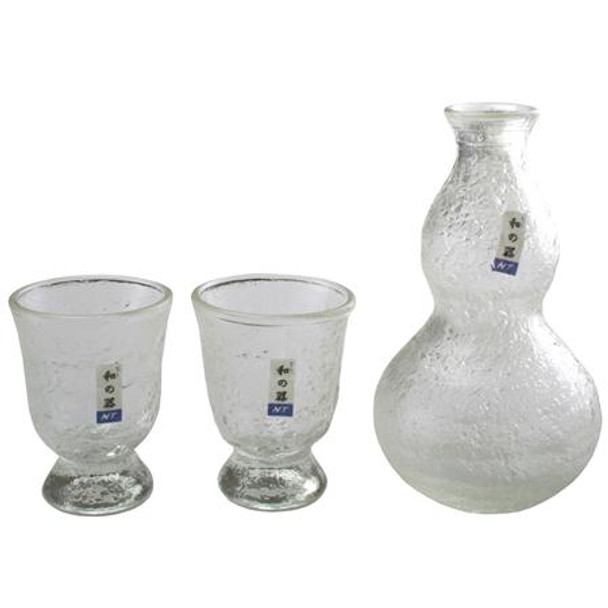 NT Clear Glass Sake Set