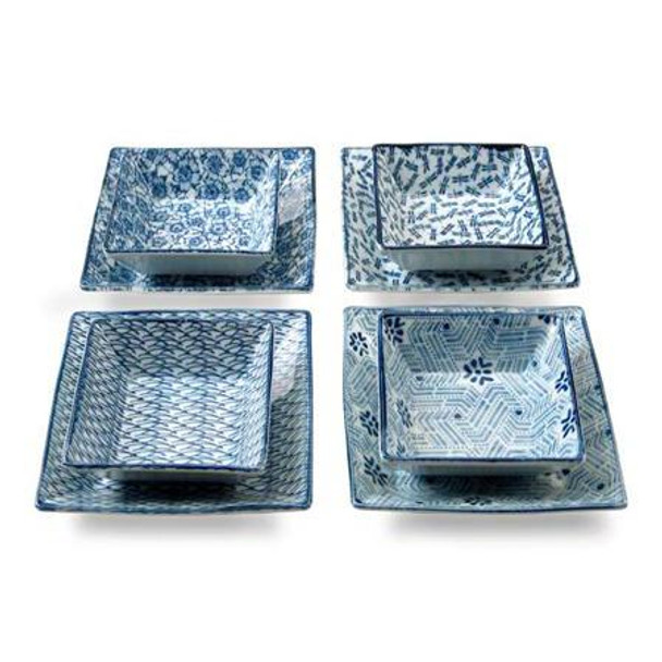Four Season Square Plate Set