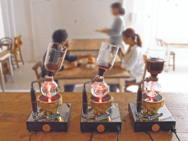 """Coffee Syphon """"NEXT"""" 5 cups 600ml"""