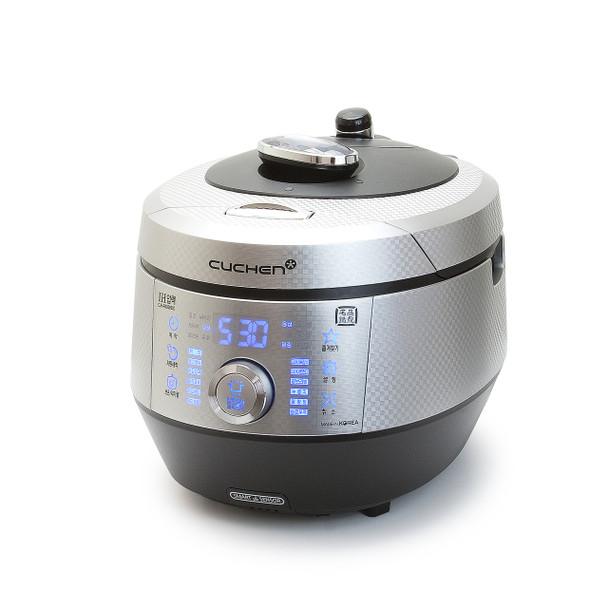 Cuchen PREMIUM IH Pressure Rice Cooker 6cup - Classic Silver&Black