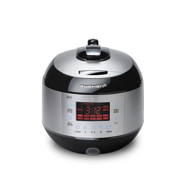 Cuchen IH Pressure Rice Cooker 6cup - Silver/Black