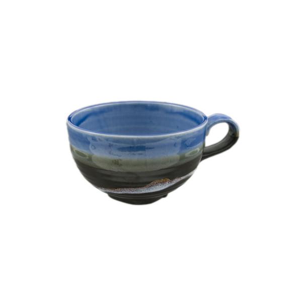 Glossy Matte Two-Tone Soup Mug