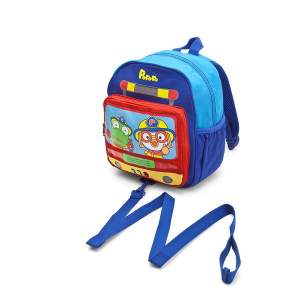 Pororo Kid's Backpack/Bag with Wristlet/Leash