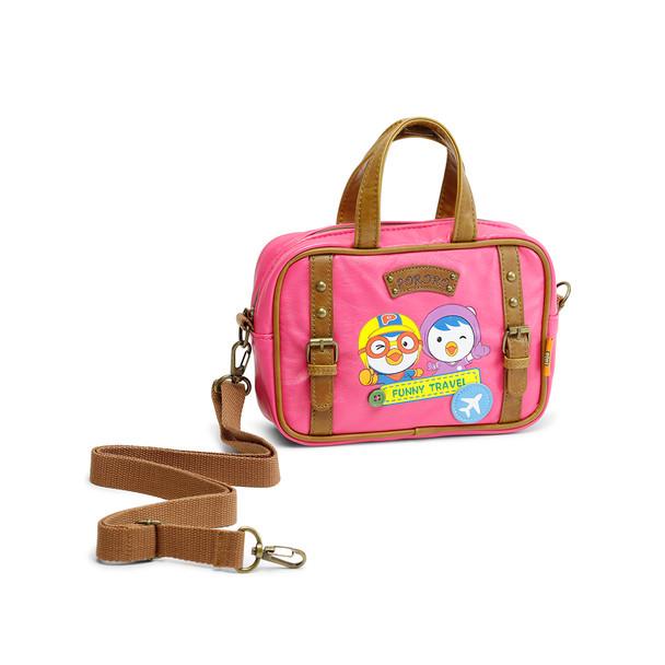 Pororo & Petty Travel Cross-Bag - Pink