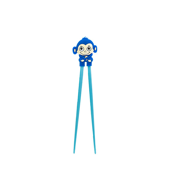 Blue Kid's Monkey Helper Chopstick