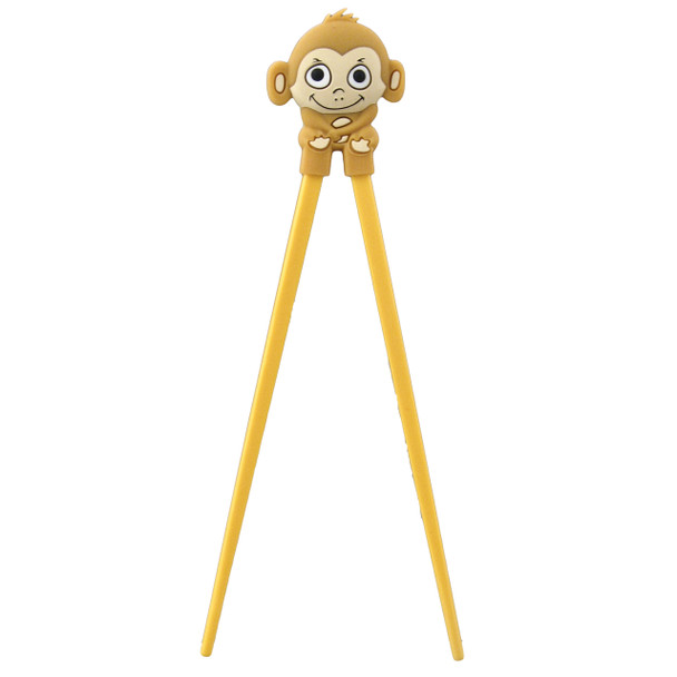 Light Brown Kid's Monkey Helper Chopstick