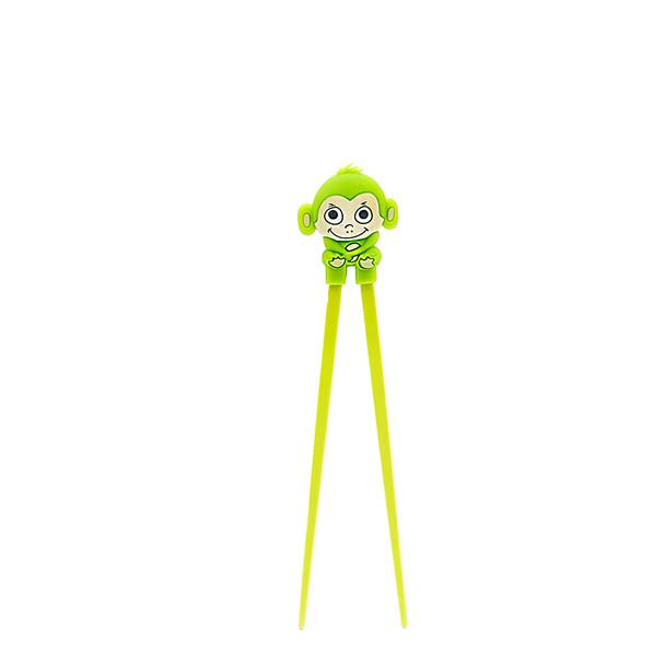 Green Kid's Monkey Helper Chopstick