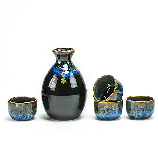 Deep Sea Water Sake Set
