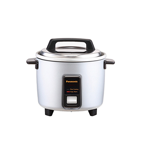Panasonic Automatic Rice Cooker 5 Cups - Silver