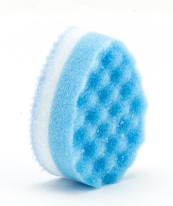 Blue Egg Shape Kitchen Sponge 2pc