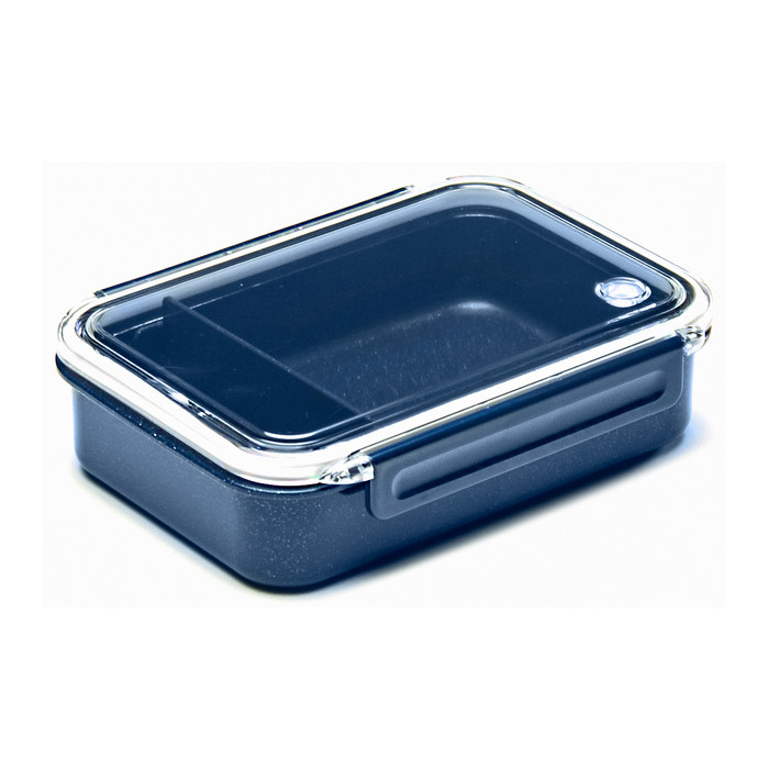 Silver Ion Lunch Box Tight Seal 27oz PCL-5, Navy Blue
