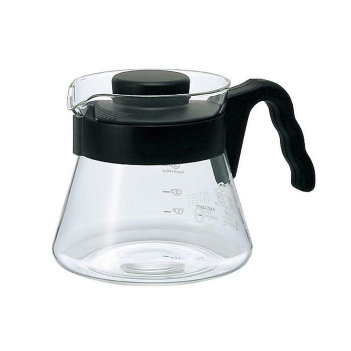 Hario V60 Coffee Server 450ml Black