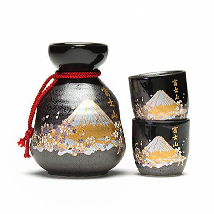 Mount Fuji Sake 3pc Set