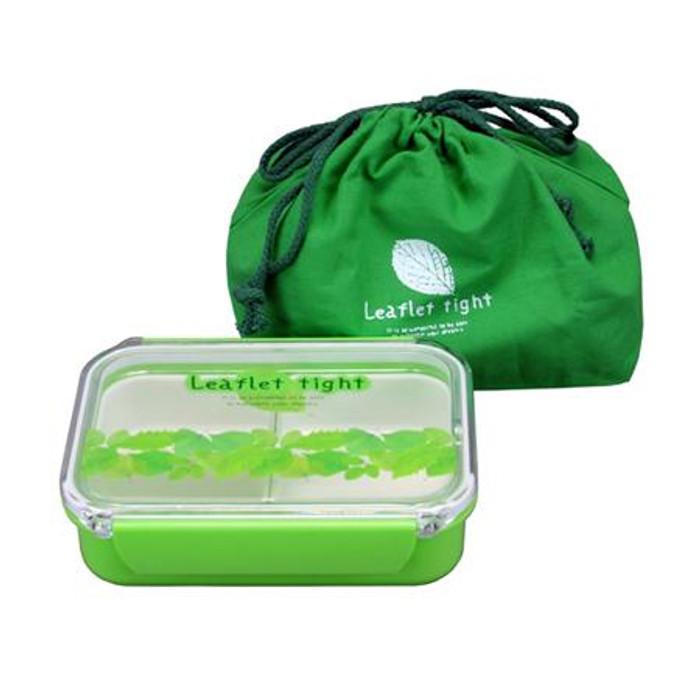 Leaflet Lunch Box w/ Bag