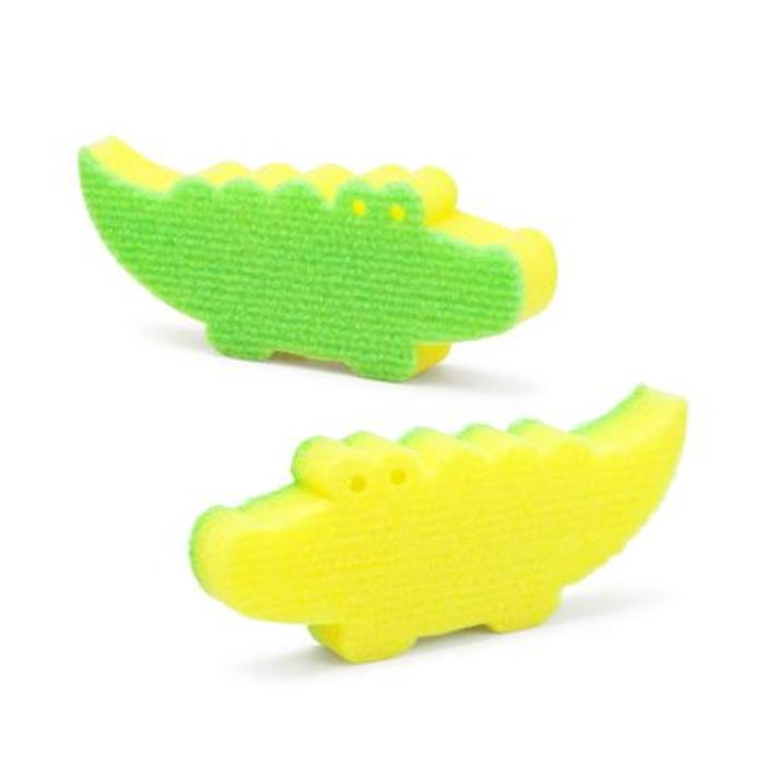 Wani Crocodile Sponge - 2pcs