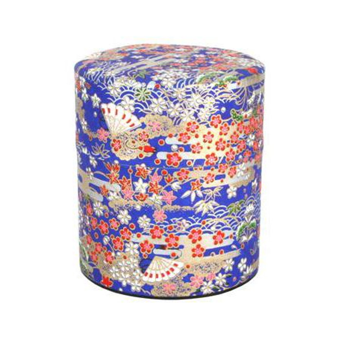 Sakura Blue Loose Tea Container