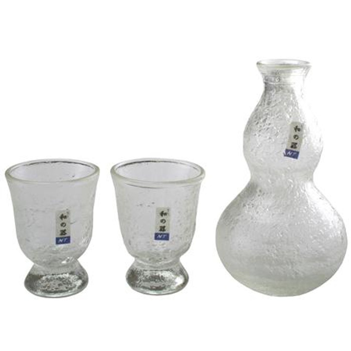 NT Clear Glass Sake Set
