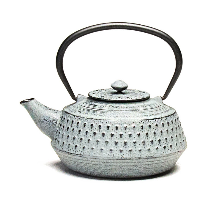 Rikyu Cast Iron Teapot - Gray