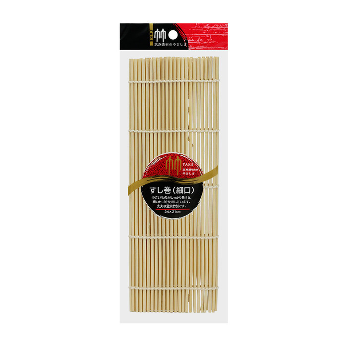 "Take Bamboo Sushi Rolling Mat 9.5""- Rounded"